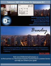 Live in Yaletown - Beasely!
