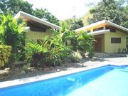 1 House and 2 Villas,  pool and rancho with BBQ area - Costa Rica