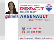 GABRIELLE ARSENAULT – Real Estate Broker